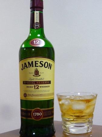 120325アイリッシュウイスキー ジェムソン12年.JPG
