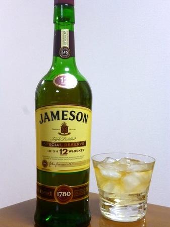121123アイリッシュウイスキー ジェムソン12年1.JPG